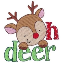 Oh Deer Filled Stitch