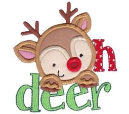 Oh Deer Applique