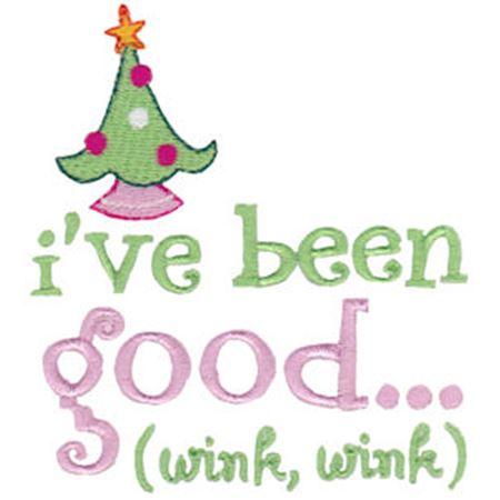 I've Been Good Wink Wink