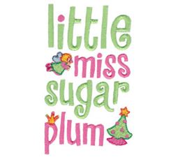 Little Miss Sugar Plum