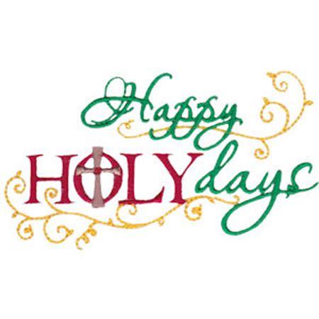 Happy Holy Days