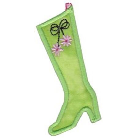 Christmas Stockings Applique 3