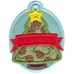 Christmas Tags Applique 11