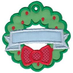 Christmas Tags Applique 12