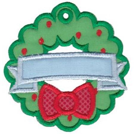 Christmas Tags Applique 12