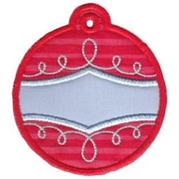 Christmas Tags Applique 6