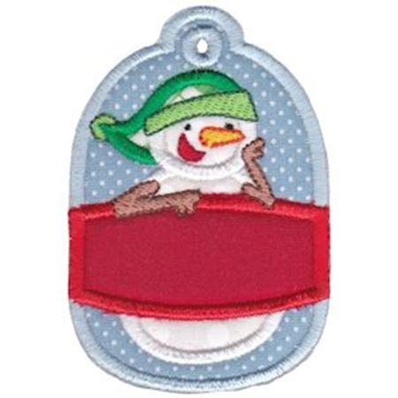 Christmas Tags Applique 9