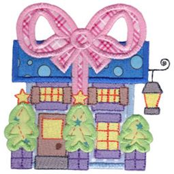 Christmas Village Applique 10