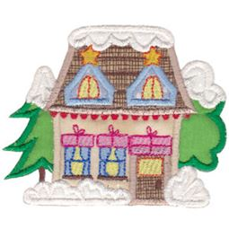 Christmas Village Applique 11