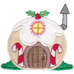 Christmas Village Applique 12