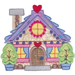 Christmas Village Applique 3