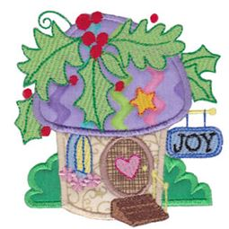 Christmas Village Applique 4