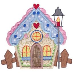 Christmas Village Applique 5