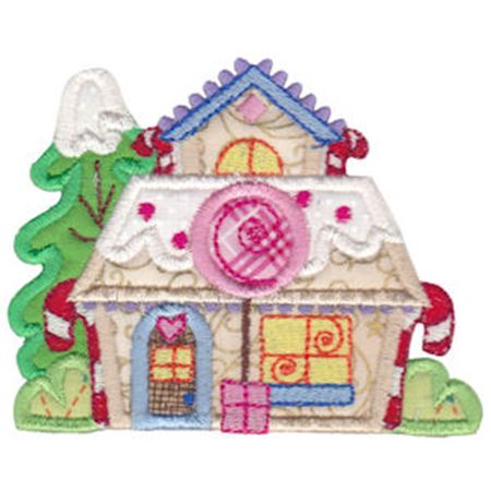 Christmas Village Applique 6
