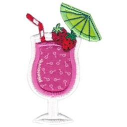 Applique Strawberry Cocktail