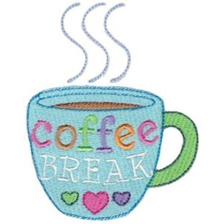 Coffee Break Mug Filled Stitch