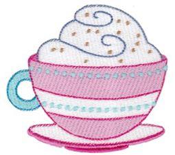Cafe Latte Filled Stitch