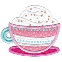 Cafe Latte Applique