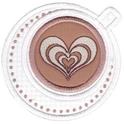 Cappuccino Applique