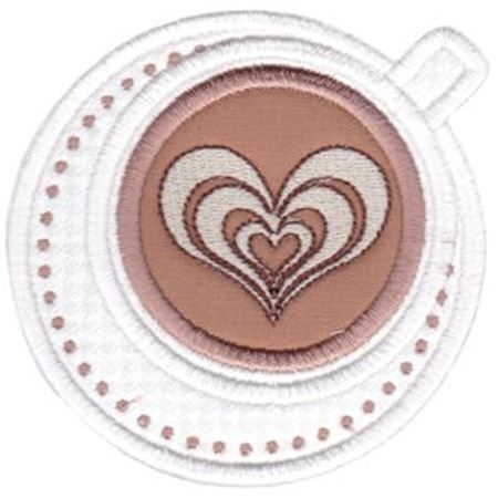 Cappuccino Applique
