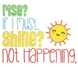 Rise If I Must Shine Not Happening