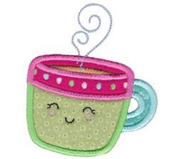 Coffee Mug Applique