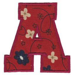 College Greek Alphabet Applique 1
