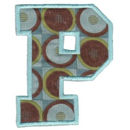 College Greek Alphabet Applique 17