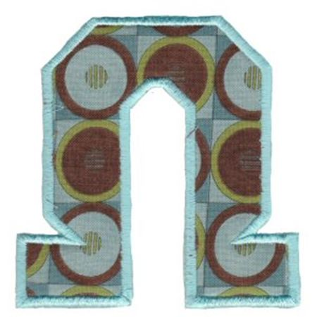 College Greek Alphabet Applique 21