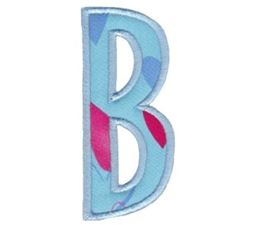 Comic Alphabet Applique Capital B