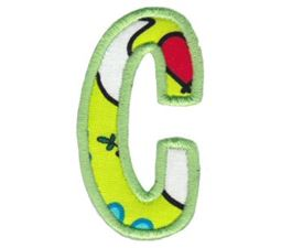 Comic Alphabet Applique Lower Case c