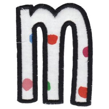 Comic Alphabet Applique Lower Case m