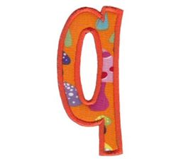 Comic Alphabet Applique Lower Case q