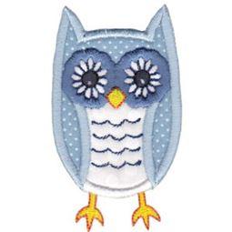 Owl Stick Animal Applique