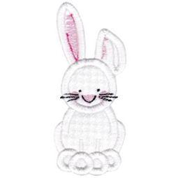 Rabbit Stick Animal Applique