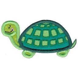Turtle Stick Animal Applique