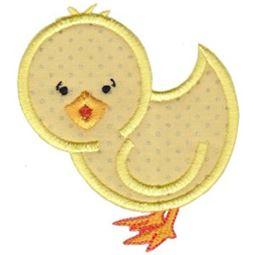 Chicken Stick Animal Applique