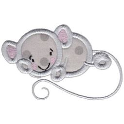 Mouse Stick Animal Applique