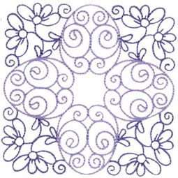 Country Flowers Quilt Blocks 2