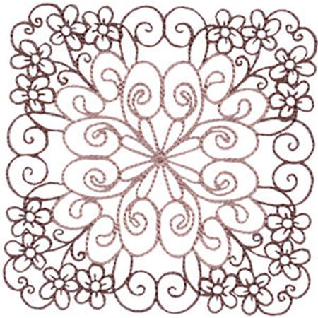 Country Flowers Quilt Blocks 4