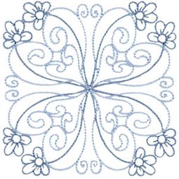 Country Flowers Quilt Blocks 7