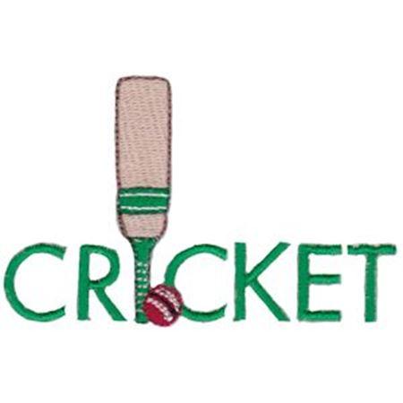 Cricket Word Art