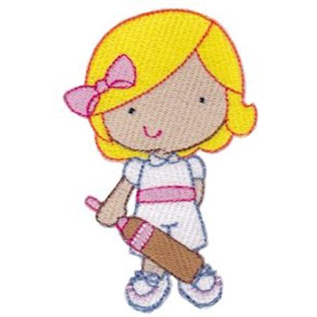 Girl Cricket Player