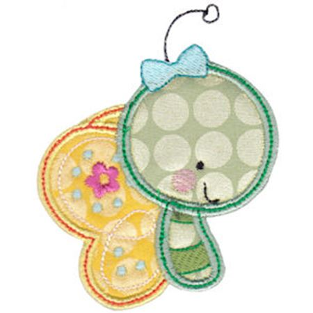 Cuddle Bug Applique 10