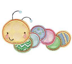 Cuddle Bug Applique 4