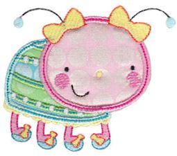 Cuddle Bug Applique 9