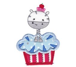 Cupcake Critters Applique 6