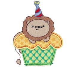 Cupcake Critters Applique 9