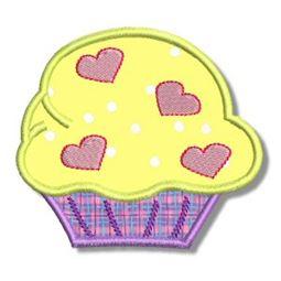 Cupcakes Applique 1