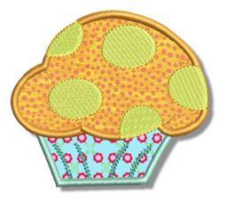 Cupcakes Applique 6